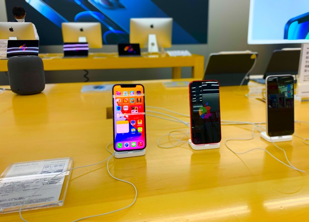 iPhone13購入_お店