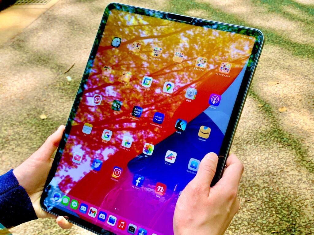 iPad Pro_屋外で使う