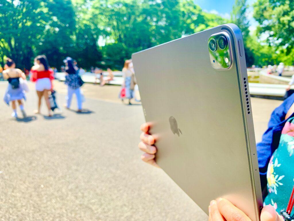 iPad Pro12.9インチでカメラ撮影