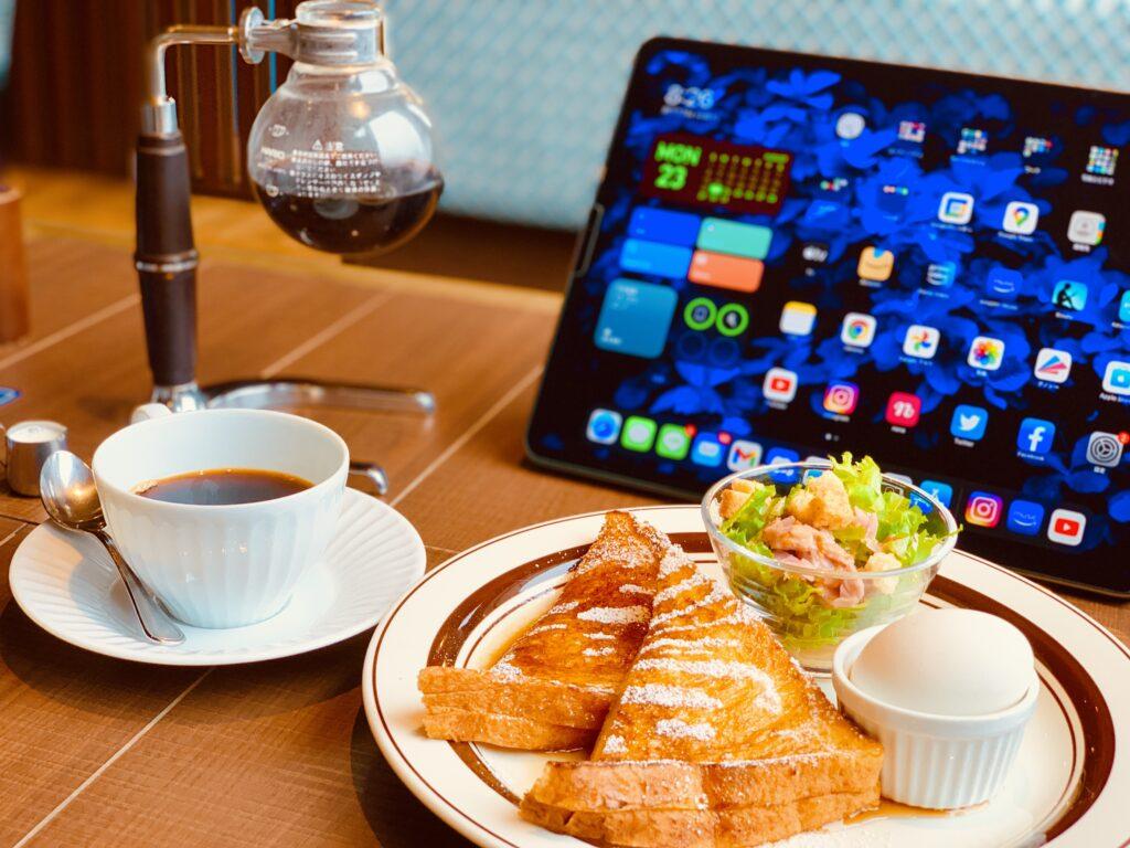 iPad Pro12.9インチ_カフェに持ち運び