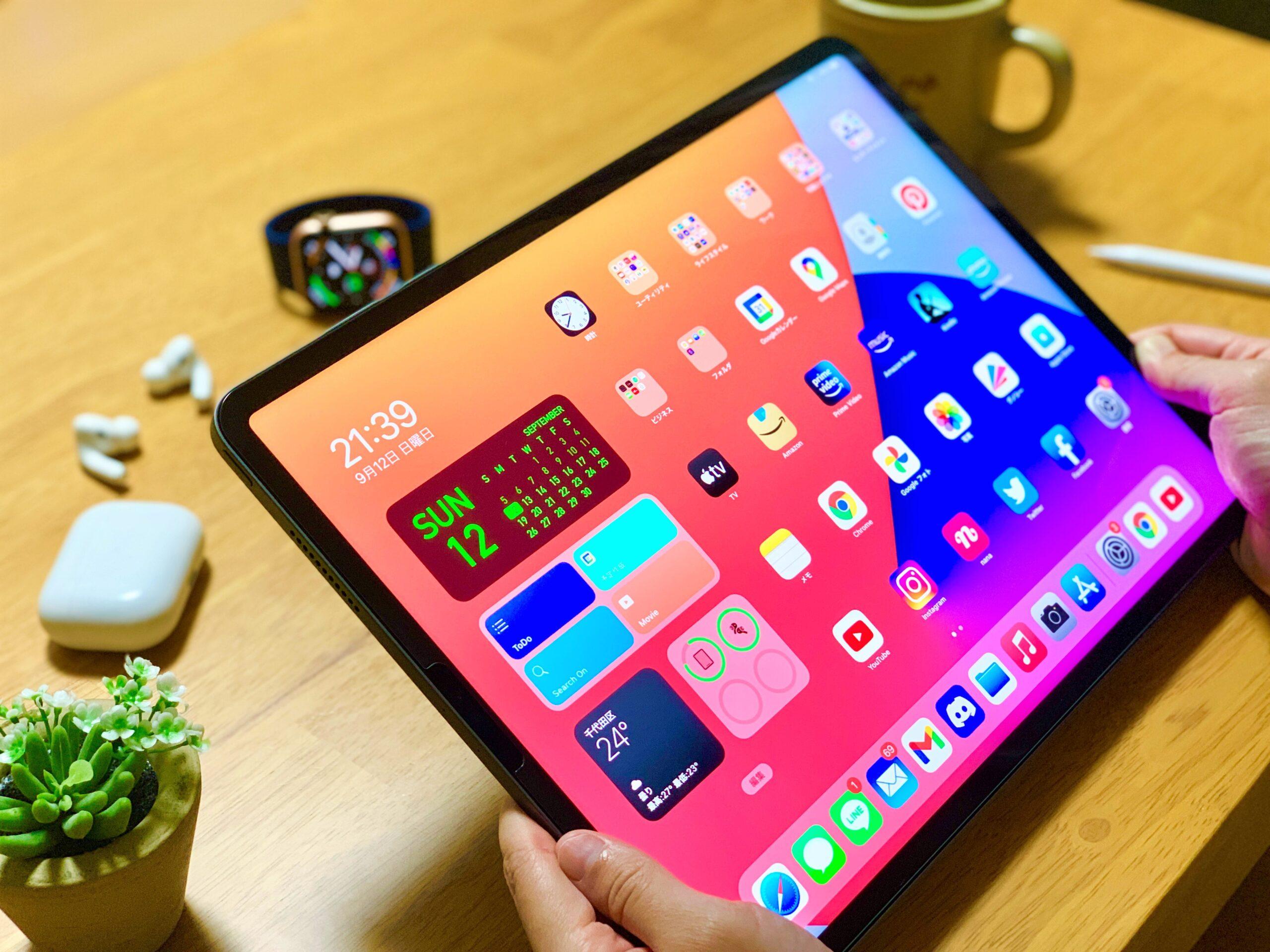 iPad Pro 12.9インチのサイズ感