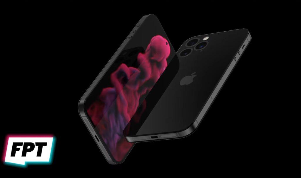 iPhone14_フラットデザイン
