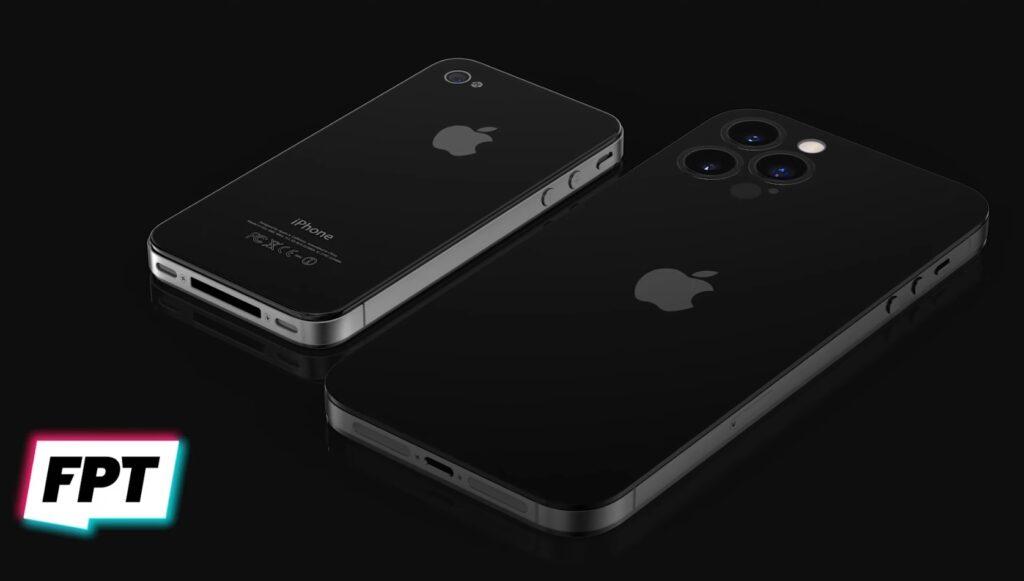 iPhone14とiPhone4