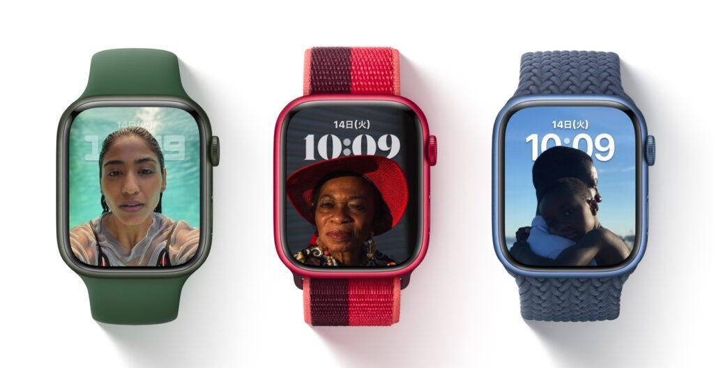Apple Watch_ポートレート文字盤