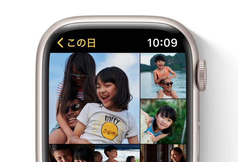 Apple Watch_写真アプリ強化