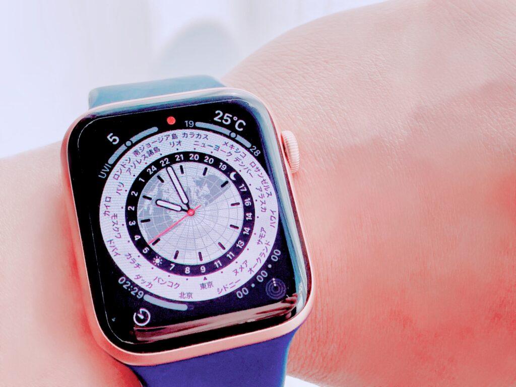 Apple Watch_ワールドタイム